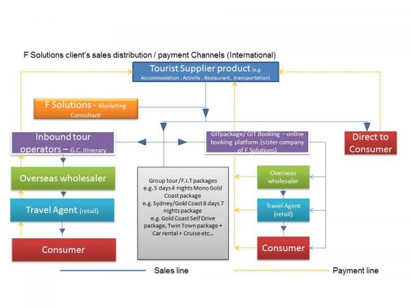F Solutions sales distribution channels